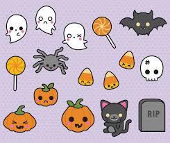 spooky halloween clip art premium vector clipart kawaii halloween clipart spooky