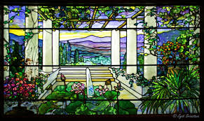 Louis Comfort Tiffany Stained Glass 2013 Exhibition At Nickerson Mansion U201clouis Comfort Tiffany