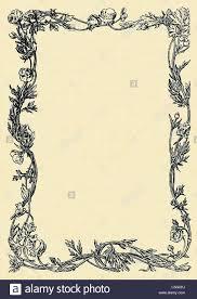vintage design vintage decorative border design 5 from an antiquarian book stock