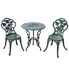 Cast Iron Bistro Table Bistro Table Set Wrought Iron