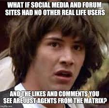The Social Network Meme - list of synonyms and antonyms of the word no social media meme