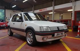 peugeot 205 peugeot 205 gti 1 9 1991 south western vehicle auctions ltd