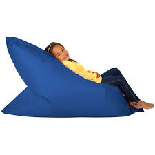 hi bagz kids bean bag 4 way lounger blue bean bags outdoor floor