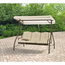 3 Person Swing Cushion Replacement by 3 Seat Swing With Canopy Roselawnlutheran