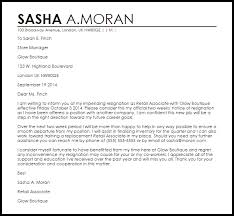 retail resignation letter resignation letters livecareer