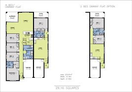 Granny Flat Floor Plans by Allworth Homes Mondello Duet