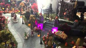 miniature halloween village 2011 spooky town halloween village youtube