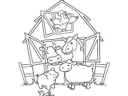 free printable colouring pages farm animals farm coloring pages 12