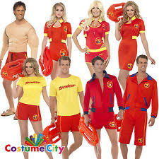 Lifeguard Halloween Costume Lifeguard Fancy Dress Ebay