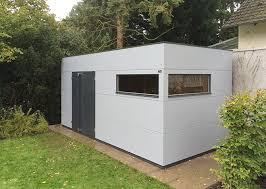 gartenhaus design flachdach extragroßes gartenhaus xl gartana galerie