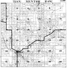 Property Lines Map Plat Maps Index Of Mentor Township Clark County Wi