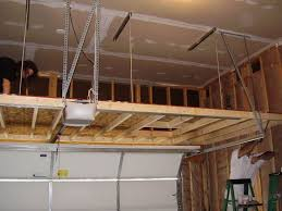 Wood Shelving Plans For Storage by Best 25 Overhead Garage Storage Ideas On Pinterest Diy Garage
