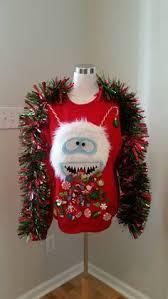 Ugly Christmas Decorations - 40 cheap and easy ugly christmas sweater diys ugliest christmas