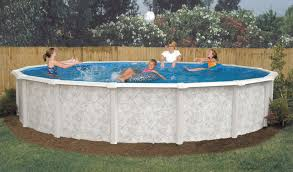 gsm 18 u0027 round montego bay above ground swimming pool package