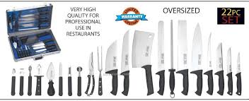 professional kitchen knives set slitzer 22 pc professional chef s cutlery set in china