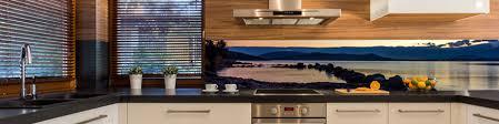 credences cuisine crédence panoramique pour cuisine photo corse paysage