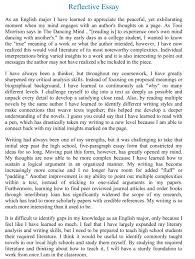 introduction to a reflective essay BestWeb