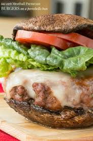 Low Carb Comfort Food Meatball Parmesan Burgers Low Carb Option Cupcakes U0026 Kale Chips