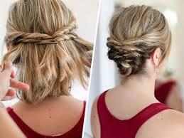 coiffure mariage cheveux courts 17 belles coiffures faciles et rapides pour cheveux courts