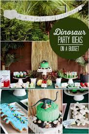 dinosaur birthday party boy bash dinosaur birthday party on a budget spaceships and