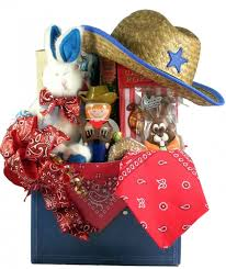 themed gift baskets yeehaw cowboy themed easter basket candy gift boutique