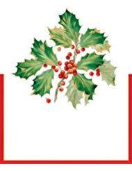 amazon com christmas place cards u0026 place card holders