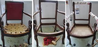 comment retapisser un canapé comment retapisser un fauteuil restauration louis philippe