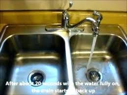 Kitchen Sink Clogged Past Trap Clogged Kitchen Sink With How Kitchen Sink Drain Clogged Past Trap