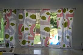 Ladybug Kitchen Curtains by Kitchen Accessories Cool Half Kitchen Cafe Curtain Design With