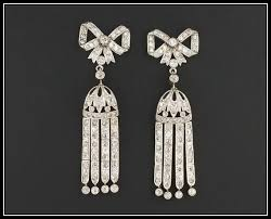 20s earrings 120 best jazz era jewels swing into the 20s deco era images