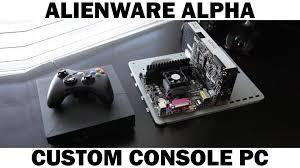 alienware alpha black friday alienware alpha vs custom gaming pc graphics comparison youtube