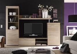 Wohnzimmerschrank Ohne Tv Fach Trendteam Rd94145 Wohnzimmerschrank Wohnwand Anbauwand Eiche