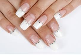 simple nail designs on french manicures 1000 ideas about french