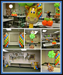 noah ark baby shower noah s ark baby shower charleston balloon company