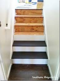 Floor Painting Ideas Wood Best 25 Painted Wood Stairs Ideas On Pinterest Home Stairs