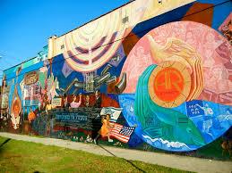 Window Wall Mural Highlands Peel Public Art Los Angeles Love Affair