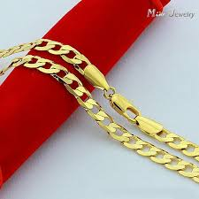 man gold necklace wholesale images High quality 24k gold necklaces jewelry wholesale chain men jpg
