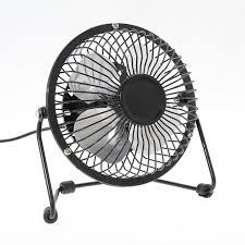 Small Desk Fan Portable Small Desk Fan Mini Usb Fans For Pclaptopnotebook Metal 4