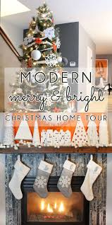 Simple White Christmas Decorations by 379 Best Holiday Home Decor Images On Pinterest Christmas Decor