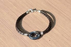diy bracelet men images Black leather bracelets for men pictures photos and images for jpg