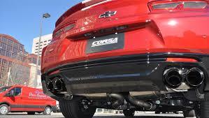 camaro exhaust system corsa performance 14784blk corsa camaro 2016 ss zl1 xtreme
