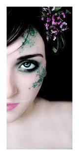 Ornate Lock Tranquil Yet Alive by Leafy Green Fairy Makeup I Like The Idea But It U0027s A Bit