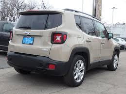 jeep renegade grey interior 2015 jeep renegade latitude for sale in chicago il