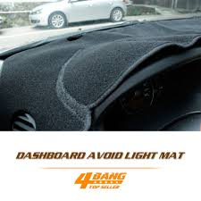ford focus light on dashboard car auto vehicle protector cover instrument black carpets sun