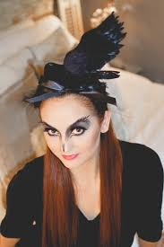 halloween makeup store black bird makeup for halloween u2014 house of five