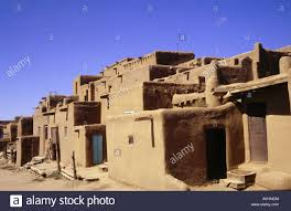 adobe style houses geography travel usa new mexico taos buildings pueblo