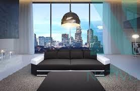 canap profond canapé skyline ac éclairage led nativo mobilier design