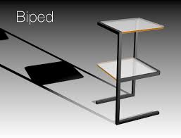 Minimalist Side Table Biped Side Table By Eugene Wong At Coroflot Com