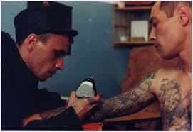 prison tattoos lost in a supermarket