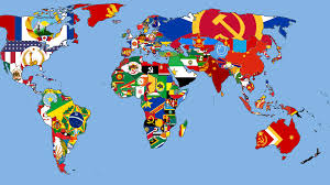 World Map Country Flags World Flag Map Grahamdennis Me